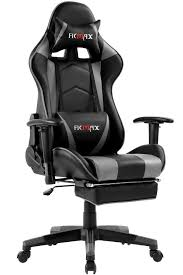 Ficmax Ergonomic Gaming Chair Massage Computer Gaming Chair Reclining  Racing Office Chair With Footrest Pro Gamer E-Sport Chair High Back Gaming  Desk ...
