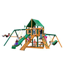 Outdoors: Fabulous Design Of Gorilla Swing Sets For Kids ... Outdoors Gorilla Swing Sets Playsets Sears Backyard Discovery Weston All Cedar Playset The Home Depot Image Srtspower Timber Play Ii With Balcony Set Amazing For Cool Kids Playground Ideas Ii Playtime Fun For From Somerset Manual Outdoor Decoration Safari Images Wood Pictures Mesmerizing Nice Dazzling Design Of