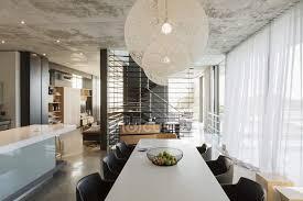 luxus interieur eines modernen hauses esszimmer bequem