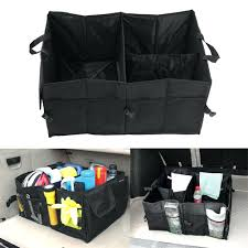 Storage BinsCar Top Containers Rental Trunk Bins Baby Diaper Portable Changing Table Organizer