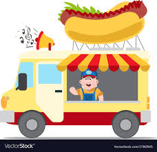 100 The Car And Truck Shop Flat Design Of Fast Food Car Shop Truck Icon With Vector Image