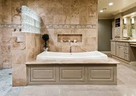 Diy L Shaped Bathroom Vanity by Bathroom Ideas Master Remodel Bathroom With Built In Bathtub And