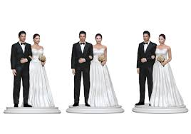 Wedding Cake Topper Figurine 381