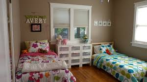 Boy Girl Bedroom Decorating Ideas Shared Kids Wall Paint Color New