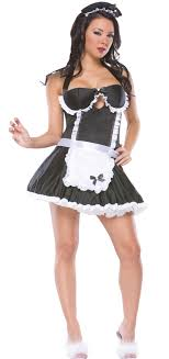 Retro French Maid Costume