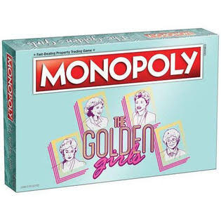 Monopoly Property Trading Board Game - The Golden Girls Edition