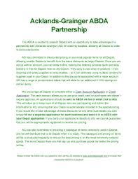Fillable Online Albertadepot Acklands Grainger ABDA Partnership
