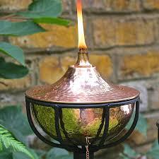 Citronella Oil Lamps Uk by Garden Oil Torch Tabletop Or Pole Mounted By London Garden Trading