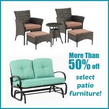 kohl s 50 off select patio furniture plus extra 20 off and