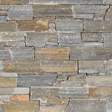 pose brique de verre exterieur 6 parement quartzite gris