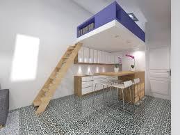 chambre en mezzanine transformer atelier de bricolage en studio indépendant avec