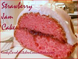 Easy Homemade Dessert Recipes – Strawberry Jam Cake