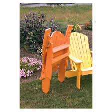 Living Accents Folding Adirondack Chair White by Poly Folding Reclining Adirondack Chair