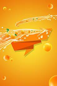 Orange Juice Poster Background Literature And Art Image