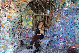 a world of whimsy in venice the mosaic tile house restless