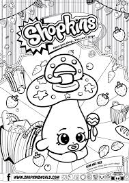 Shopkins Coloring Pages In Color