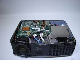 any part from dell 2400mp projector main board ballast color wheel