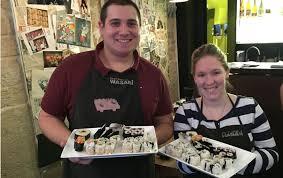 cours de cuisine japonaise offirir un cours de cuisine japonaise à wasabi sarl jb