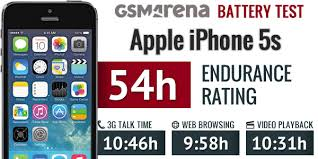 Apple iPhone 5s battery life test