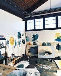 100 Art Studio Loft State Of The Studio Heatherdayart Heather Day
