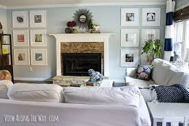 Living Room Makeovers Diy by House Tour View Along The Way