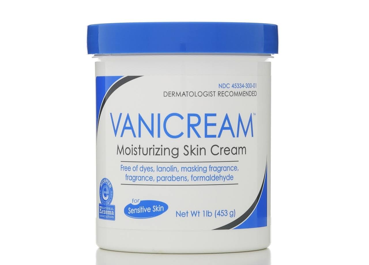 VaniCream Moisturizing Skin Cream - 453g