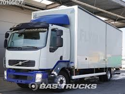 100 240 Truck VOLVO FL 4X2 Ladebordwand Euro 5 Closed Box Trucks For Sale From