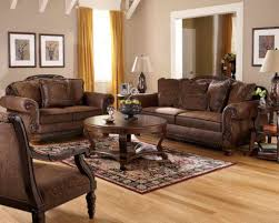 Brown Leather Sofa Living Room Ideas by Living Room Impressive Tuscan Style Living Room Furniture Which