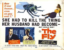 Vintage Ad Archive Halloween Hysteria by Halloween Havoc The Fly 20th Century Fox 1958 U2013 Cracked Rear