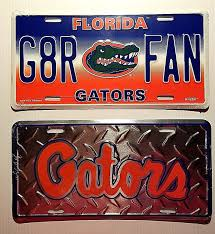 UF University Florida Gators Car Tag Truck Auto License Plate NCAA ...