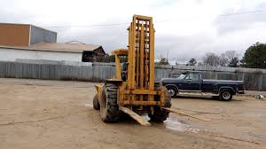 Master Craft MCL642D Type B Diesel Forklift - YouTube