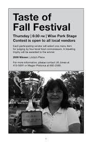 Milton Pumpkin Festival Pageant by 2010 Blue Mound Fall Festival Booklet