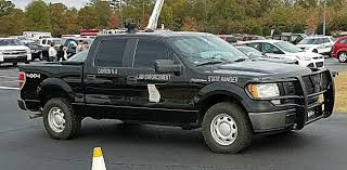100 Game Warden Truck Georgia DNR Georgia K9 Ford F150 4X4 4Dr Black Paint