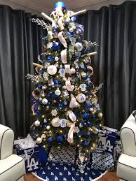 Los Angeles Dodgers Christmas Tree