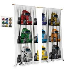 100 How Wide Is A Semi Truck Mazoncom Nniutwo Room Darkening Curtains Colorful