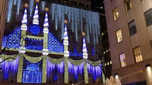 Rockefeller Plaza Christmas Tree by Carol Of The Bells At Saks Fifth Avenue Rockefeller Center