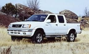 100 Nissan Frontier Truck Cap 2000 SE Crew Cab 4x4