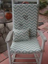 Nursery Or Indoor Outdoor Custom Rocking Chair Cushions And ...
