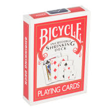 Bicycle Gaff Deck Uspcc by The Incredible Shrinking Deck In Bicycle Limited Edition By Magic