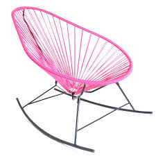 Innit Acapulco Rocking Chair by Rocking Chairs Pink Acapulco Rocking Chair Furniture I Love