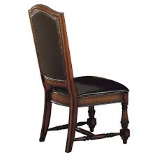 Rustic Leather Dining Room Chairs Household High End ...