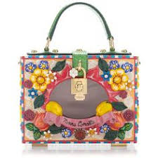 Dolce Gabbana Box Bag Patissere Theme 1219745 RSD Liked On Polyvore