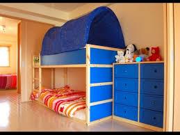 Kura Bed Instructions by 25 Cool Ikea Kura Bed Youtube