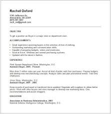 Retail Planner Resume Examples Packed With Old Version