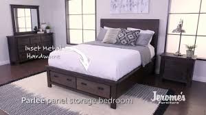 jerome s furniture parlee bedroom set youtube