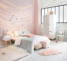 Pink White And Grey Girls Bedroom