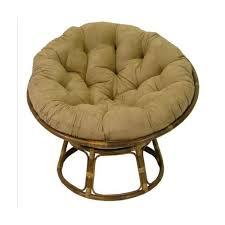 amazon com rattan papasan chair with cushion kitchen dining