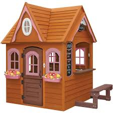 Backyard Playhouses | Home Outdoor Decoration Outdoor Play Walmartcom Childrens Wooden Playhouse Steveb Interior How To Make Indoor Kids Playhouses Toysrus Timberlake Backyard Discovery Inspiring Exterior Design For With Two View Contemporary Jen Joes Build Cascade Youtube Amazoncom Summer Cottage All Cedar Wood Home Decoration Raising Ducks Goods