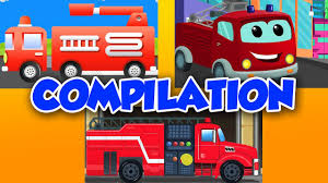 100 Fire Truck Game Videos Fire Engine Game Kids YouTube