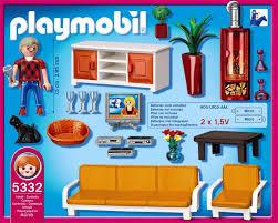 playmobil 5332 behagliches wohnzimmer